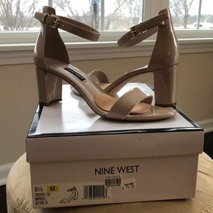 Nine West Open Toe Heel